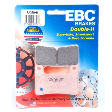 Sintered metal EBC  Double-H Superbike Brake Pad
