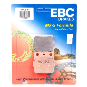 EBC  « MXS » Moto-X Race Brake Pad Sintered metal - Front or rear