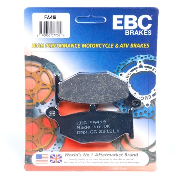 Organic EBC  Organic Brake Pad