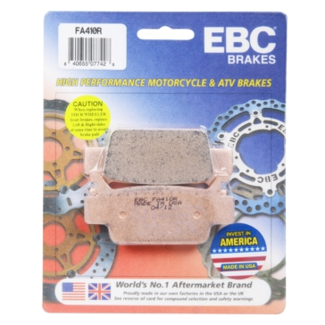 """EBC  """"R"""" Long Life Sintered Brake Pad Long life Sintered Metal - Front/Rear"""