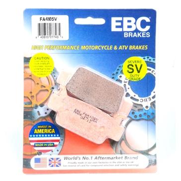 Plaquette de frein Série SV - Severe Duty EBC  Métal solidifié