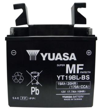 YT19BL-BS YUASA AGM Battery