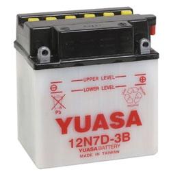 YUASA Conventional Battery 12N7D-3B