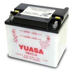 Yuasa Battery YuMicron YB7C-A