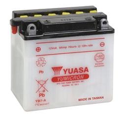 YUASA YuMicron Battery YB7-A