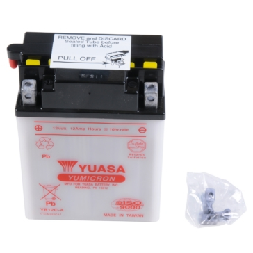Batterie YuMicron YUASA YB12C-A