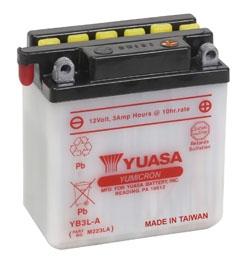 YUASA YuMicron Battery YB3L-A