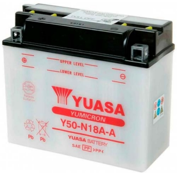 YUASA Batterie YuMicron Y50-N18A-A