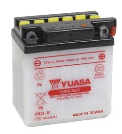 YUASA YuMicron Battery YB3L-B