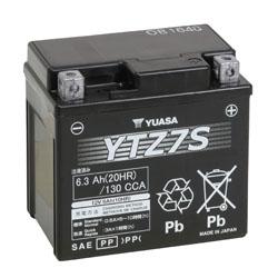Yuasa Battery Maintenance Free AGM High Performance YTZ7S