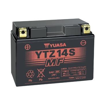 Yuasa Batteries AGM sans entretien activée à l'usine YTZ14S