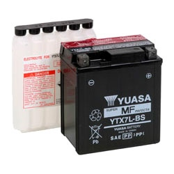 YTX7L-BS YUASA Maintenance Free VRLA Battery