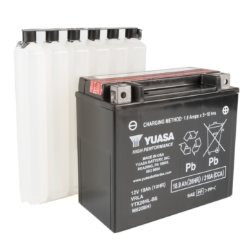 Yuasa Battery Maintenance Free AGM High Performance YTX20HL-BS