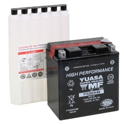 Yuasa Battery Maintenance Free AGM High Performance YTX20CH-BS