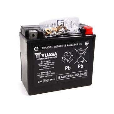 Batterie VRLA sans entretien YUASA YTX20HL-F/A
