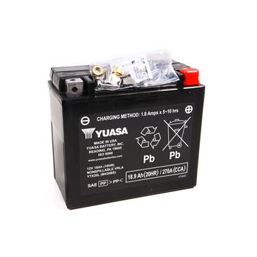 Yuasa Batteries AGM sans entretien activée à l'usine YTX20L-F/A