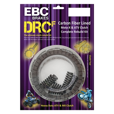 EBC  Full Clutch Kit - DRCF Series Kawasaki, Suzuki, Arctic cat - Made with Kevlar