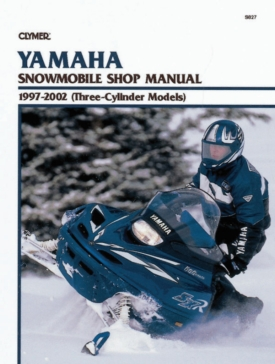 S827 CLYMER Yamaha Snowmobile 97-02 Manual