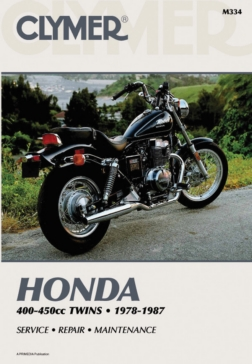 Manuel du Honda CB/CM400-450 & CMX450 78-87 CLYMER 017018