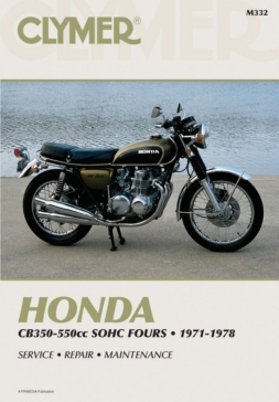 M332 CLYMER Honda CB350-550cc Fours 71-78 Manual