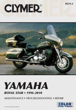 017063 CLYMER Yamaha Royal Star 96-10 Manual
