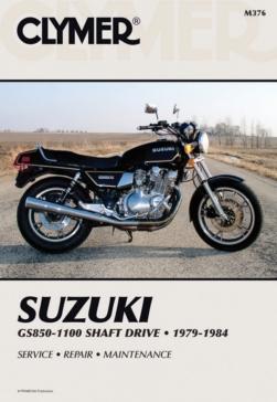 Manuel du Suzuki GS850-1100 Shaft Drive 79-84 CLYMER M376