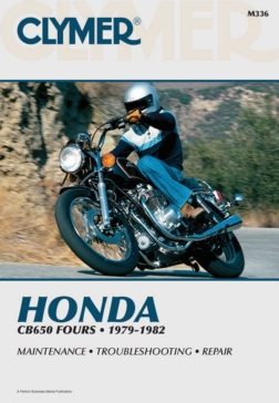 M336 CLYMER Honda CB650 79-82 Manual