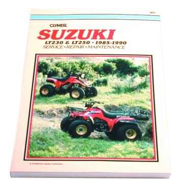 Clymer Manuel du Suzuki LT230 and LT250 85-90 017109