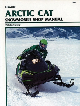 017142 CLYMER Artic Cat Snowmobile 88-89 Manual