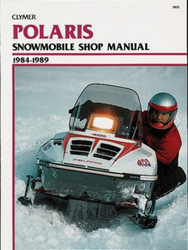 017143 CLYMER Polaris Snowmobile 84-89 Manual