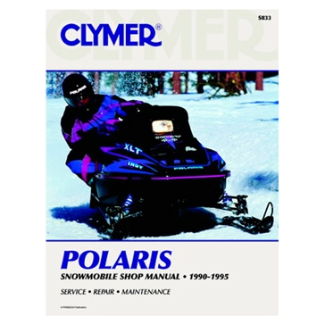 017170 CLYMER Polaris Snowmobile 90-95  Manual