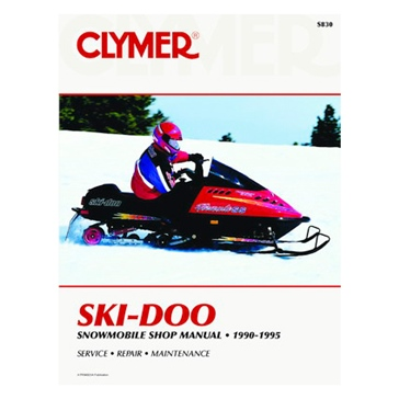 017172 CLYMER Ski-Doo Snowmobile 90-95  Manual