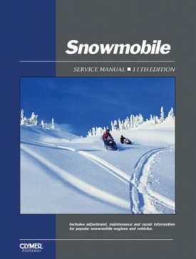 017174 CLYMER ProSeries Snowmobile Service Manual 62-86