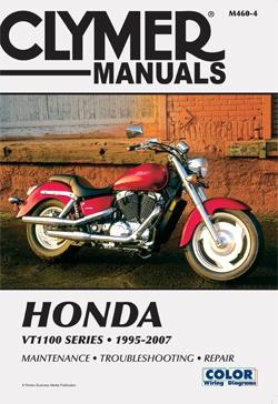 Manuel du Honda VT1100 Shadow Series Repair Manual 95-07 CLYMER M460-4