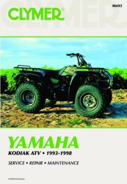 017194 CLYMER Yamaha Kodiak 93-98 Manual
