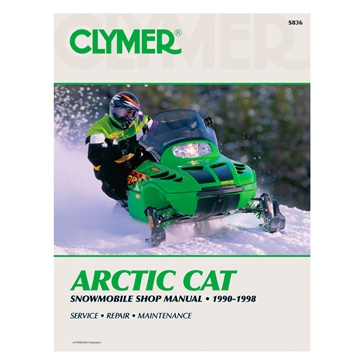 017197 CLYMER Arctic Cat Snowmobile 90-98 Manual
