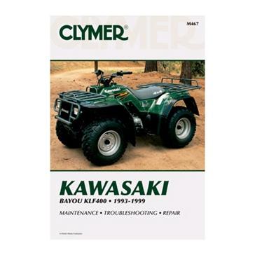 Clymer Kawasaki Bayou KLF400 93-99 Manual 017207