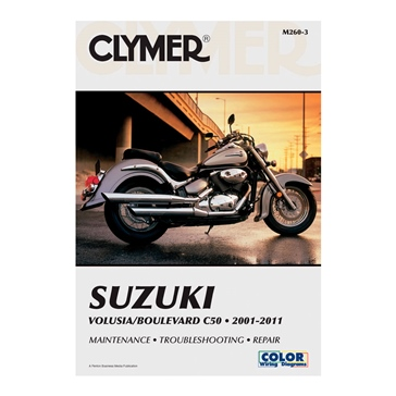 Clymer Suzuki Volusia/Boulevard C50 01-11 Manual 017216