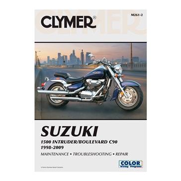 Manuel du Suzuki 1500 Intruder/Boulevard C90 98-09 CLYMER M261-2