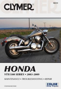 Manuel du Honda VTX1300 Series 03-09 CLYMER 017243