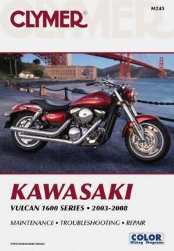 017248 CLYMER Kawasaki Vulcan 1600 Series 03-08 Manual