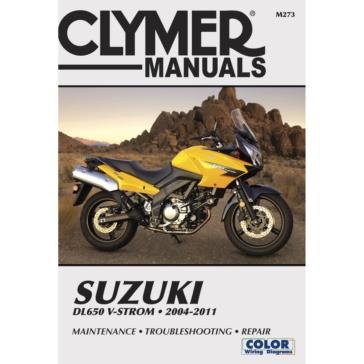 Manuel du Suzuki DL650 V-Strom 04-11 CLYMER M273