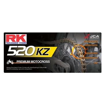 RK EXCEL Drive Chain - GB520KZ MX Chain