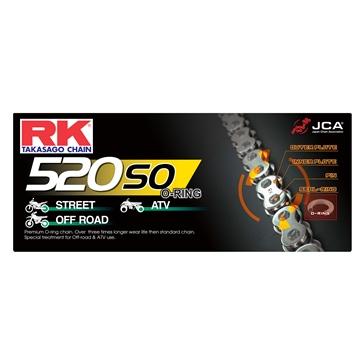 RK EXCEL Chaîne d'entraînement - 520SO Chaîne standard