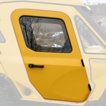 Portières rigides avec fenêtres à manivelle WOC