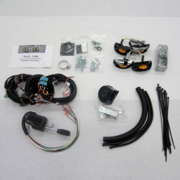 LED WOC Universal Turn Signal Horn Kit