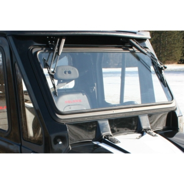 Front - Folding WOC Tip Out Windshield for Polaris Ranger
