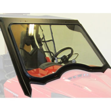 Front - Fixed WOC Complete Windshield for Can-Am Maverick