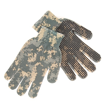 ACU Digital Camo GREAT DAY Spando-Flage Gripper Gloves