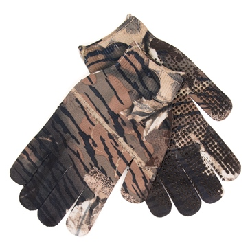 GREAT DAY Spando-Flage Gripper Gloves Mossy Oak
